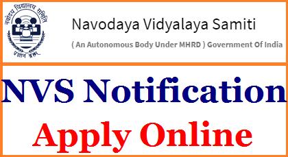 Novoday Vidyalaya Samiti 6th Class Admission