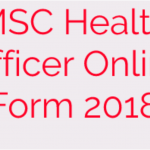 msc health officer