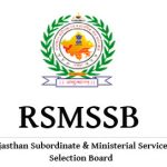 RSMSSB Rajasthan NTT Teacher