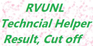 Rajasthan RVUNL Technical Helper