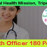 NHM Tripura Community Health Officer