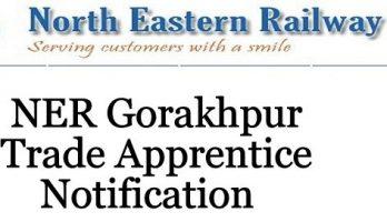 Railway NER Gorakhpur Apprentice