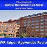 Railway NWR Jaipur Apprentice