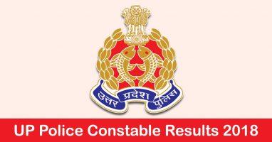 UP Police Result 2018