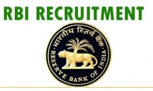 RBI Reserve Bank Officer Grade C
