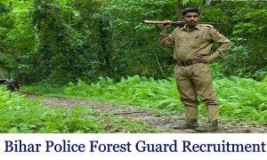 Bihar CSBC Forest Guard Van Rakshak