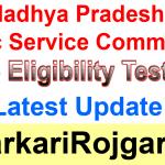 MPPSC State Eligibility Test SET