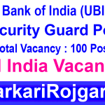 Union Bank Security Guard