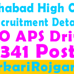 Allahabad High Court ARO APS Driver