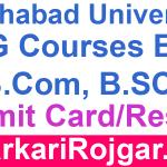 Allahabad University Annual Exam