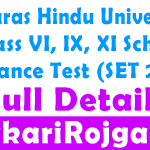 BHU School Entrance Test SET CHS