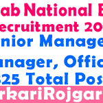 PNB Bank Recruitment 2019