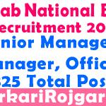 PNB Bank Recruitment 2019