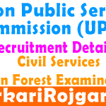 UPSC Civil Service Notification