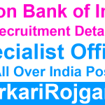Union Bank Specialist Officer